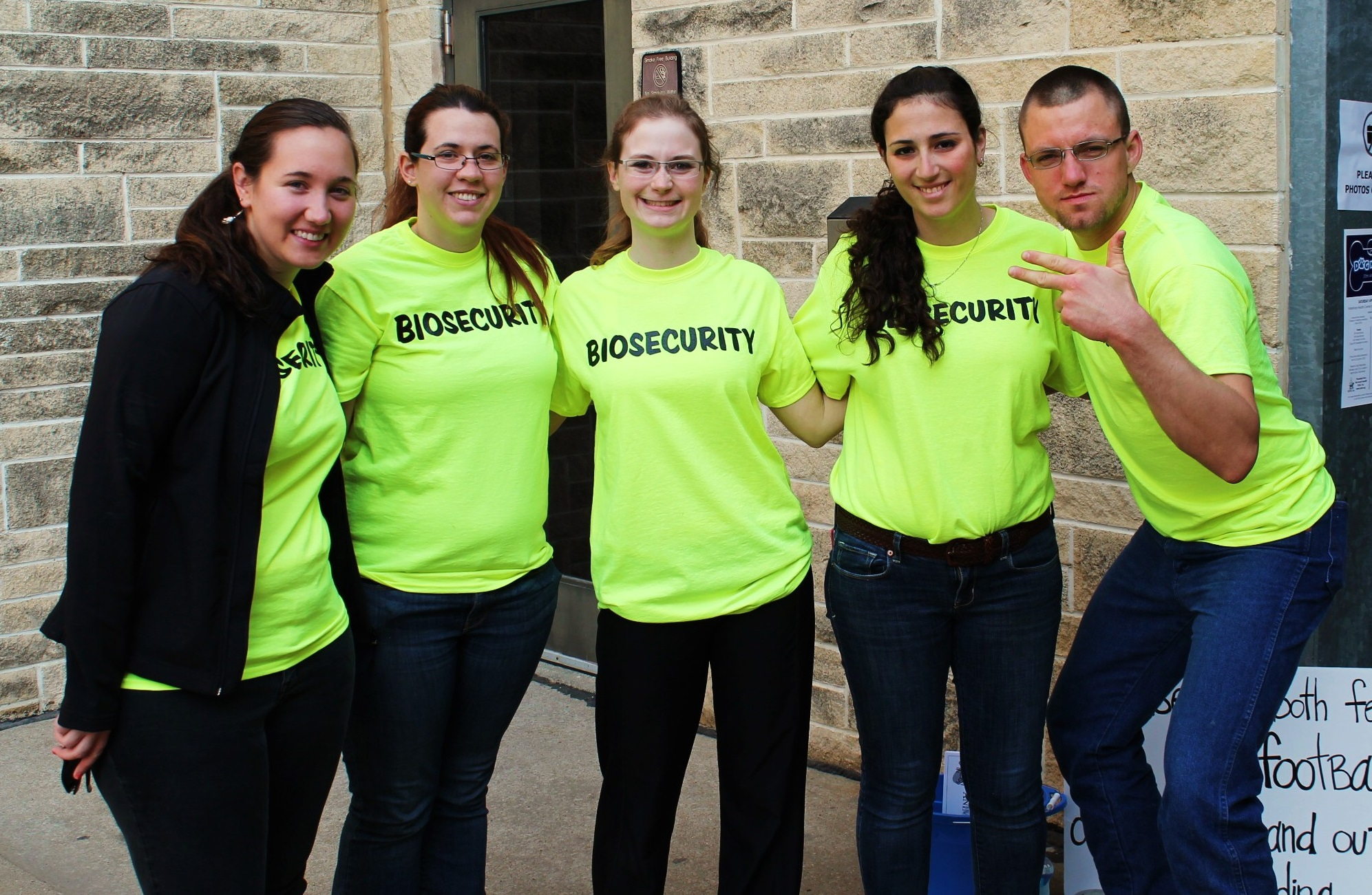 Bio House Group Custom T Shirts For Biosecurity For Your Safety Shirt