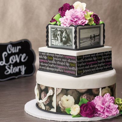 Our Love Story Wedding Cake | DecoPac