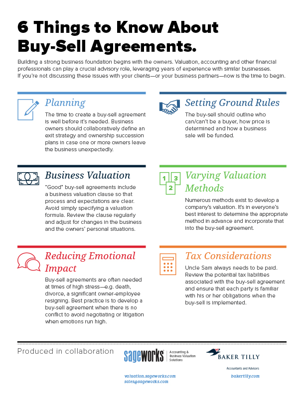 6 Things to Know About Buy-Sell Agreements