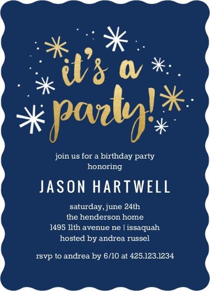 Cheap Adult Birthday Invitations Invite Shop