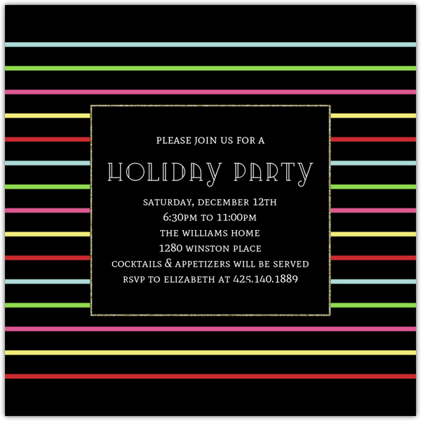Oh What Fun Holiday Party Invitation Holiday Party Invitations - holiday party invitation