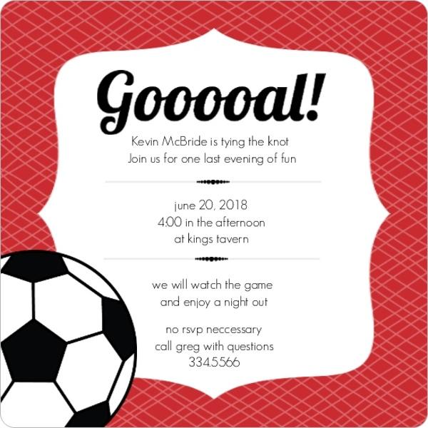 soccer invite templates - Apmayssconstruction