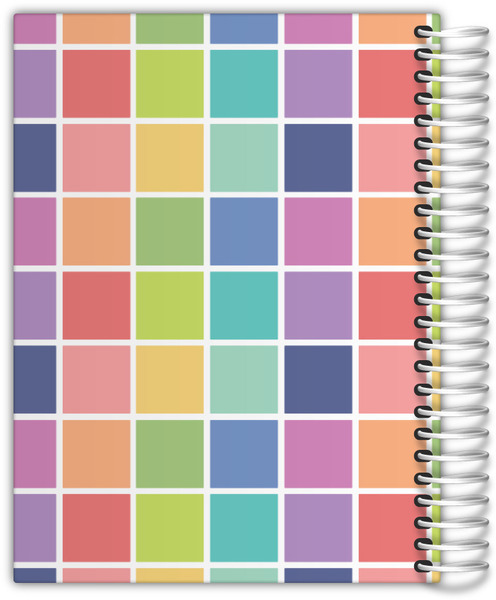 Color Swatch Family Daily Planner Daily Planners