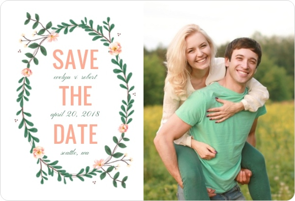 Country Wedding Save the Dates  Country Save the Date Cards