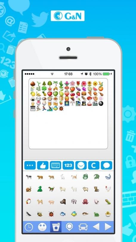 Text Pics + Art - Symbol + Emoji Keyboard - Smileys + Icons - cool text message art