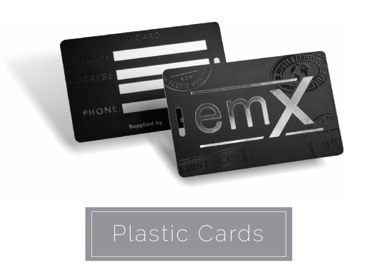 Custom Online Business Card  Plastic Card Printing 4ColorPrint