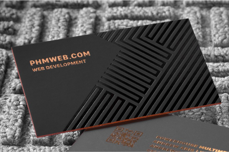 Embossed Business Cards - Raise the Stakes with Embossed Silkcards