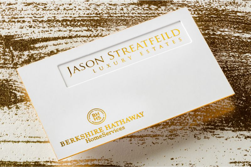 Thick Business Cards - Luxury, Customized  Double Layered