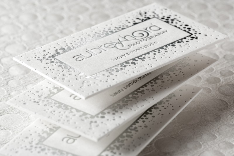Letterpress Business Cards - An Elegant Old World Look 4ColorPrint