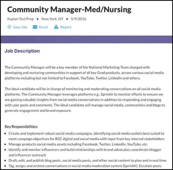 Community Manager vs Social Media Manager Hiring the Right Role - social media marketing job description