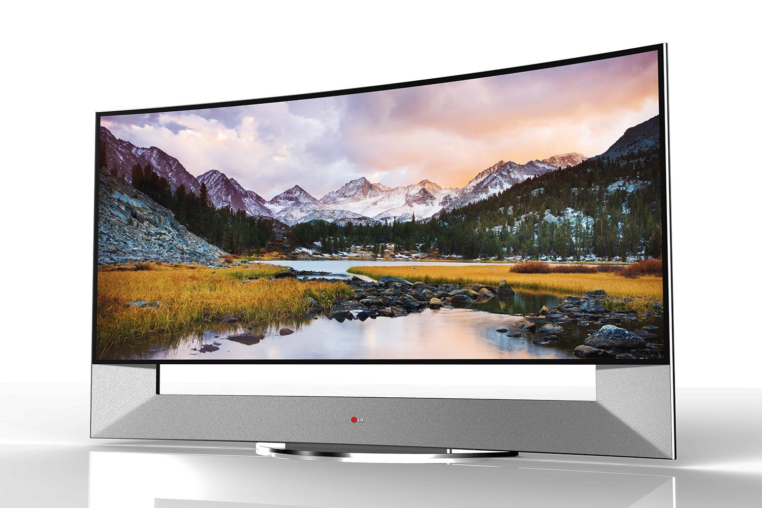 Tv 4k Lg Announces 105 Inch Curved 4k Ultra Hd Tv Ahead Of Ces