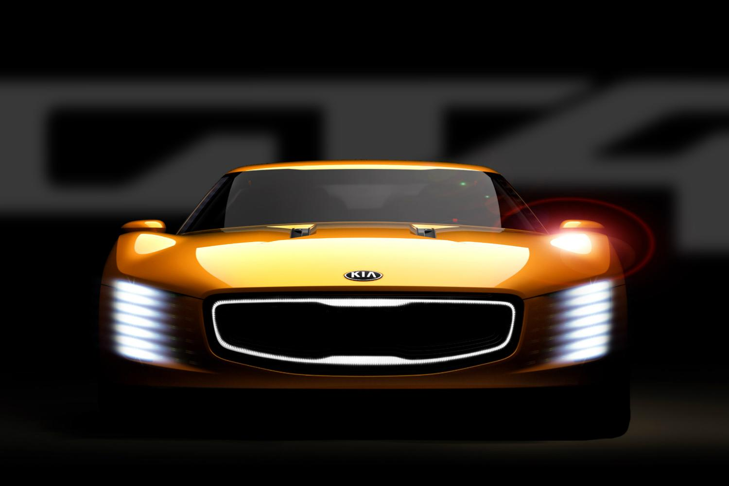 3d Door Wallpaper Kia Gt4 Stinger Concept Headed To 2014 Detroit Auto Show