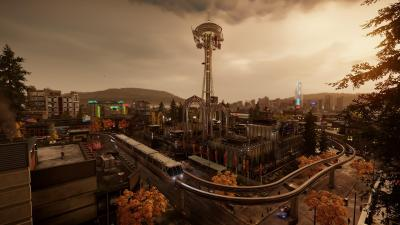 Infamous Second Son Seattle Map