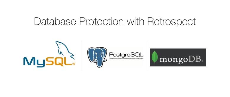 Retrospect Blog How to Protect MySQL, PostgreSQL, and MongoDB with
