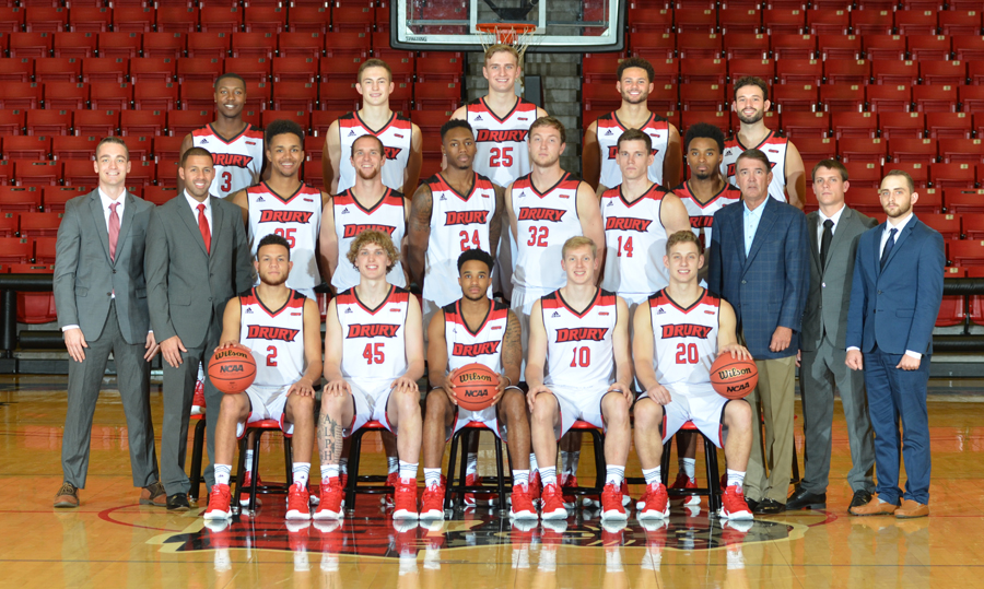 Drury Athletics - 2018-19 Men\u0027s Basketball Roster