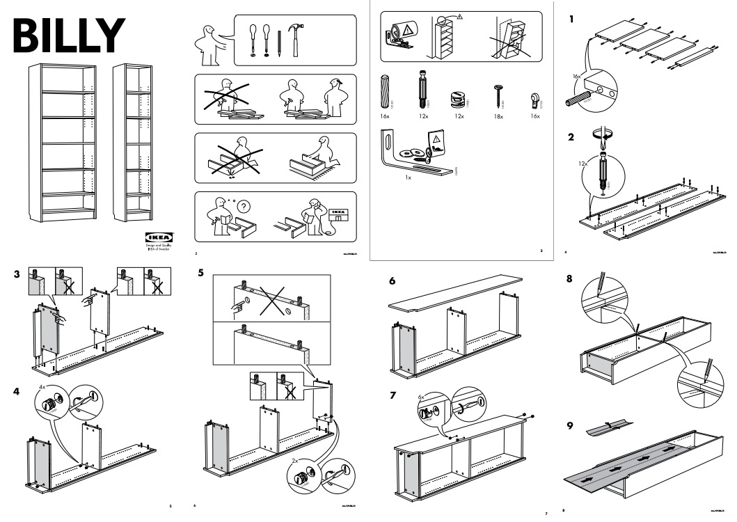 Ikea Küche Kinder Family Card Edward Tufte Forum Instructions At The Point Of Need