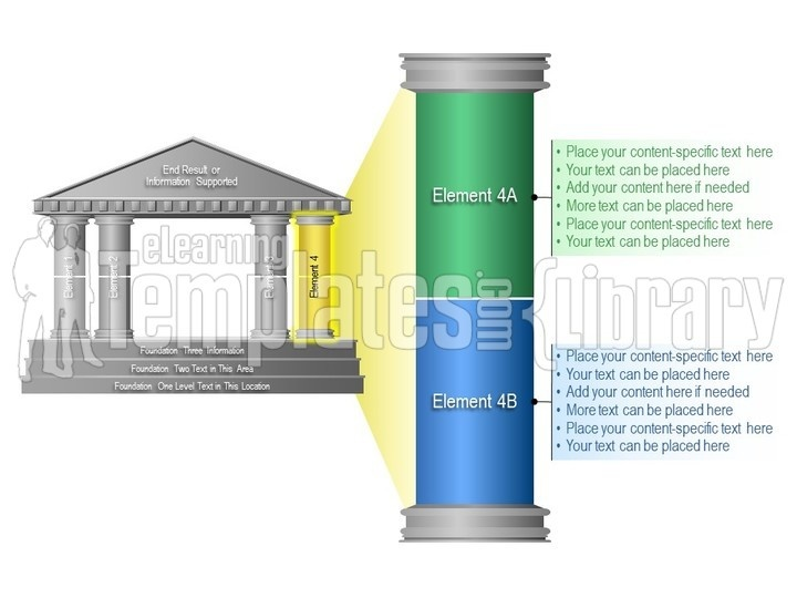 Temple Graphics Graphic for PowerPoint Presentation Templates