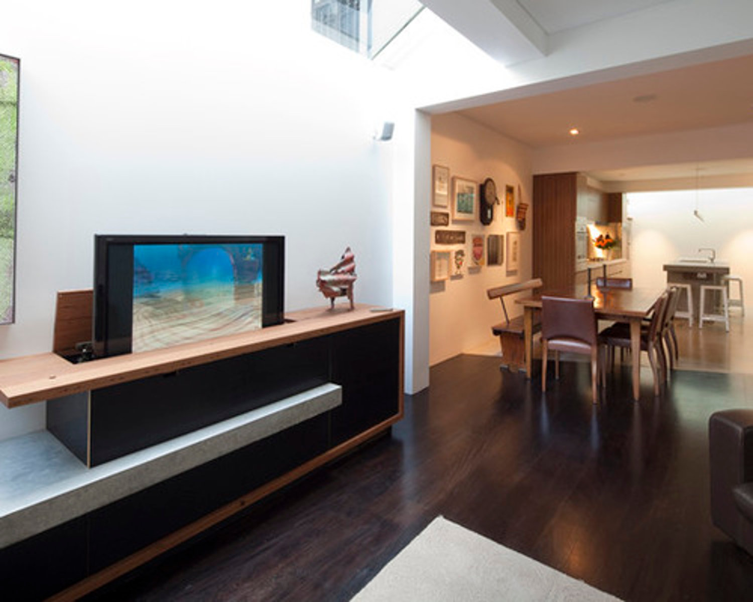 Wood Wall Behind Tv No Space For A Tv Wall Mount Try One Of These 5 Creative
