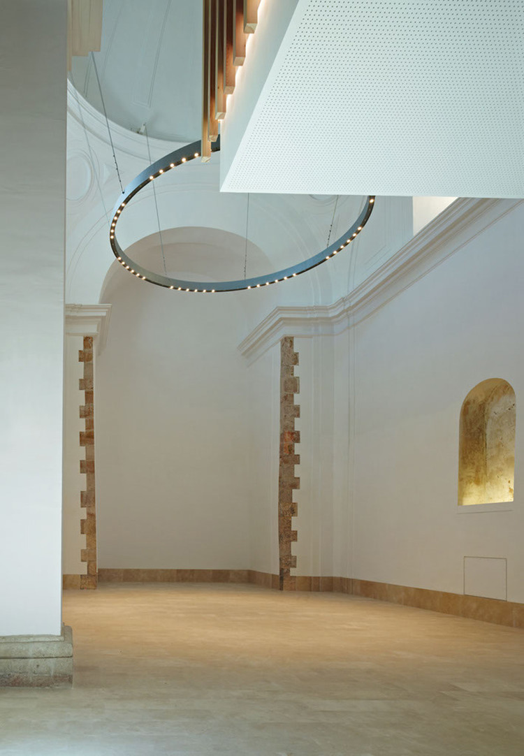Adam Bresnick Restoration And Adaptation Of A 16th Century Chapel In