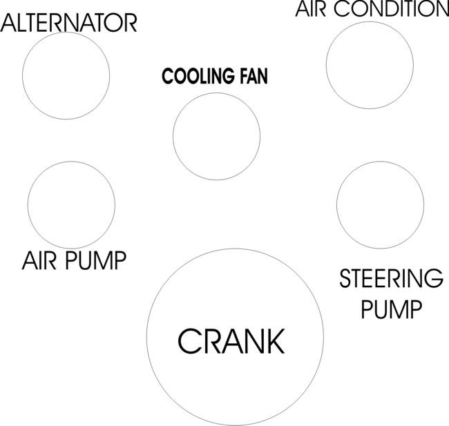 305 engine belt diagram