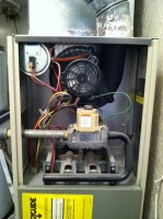 I have a Rheem Criterion gas furnace. Beginning last night