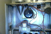 I have a RUUD Silhouette 2 gas furnace with an electric ...