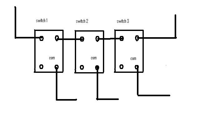 wiring a 3 gang light switch diagram uk wiring