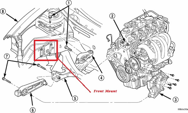 plymouth neon engine diagram