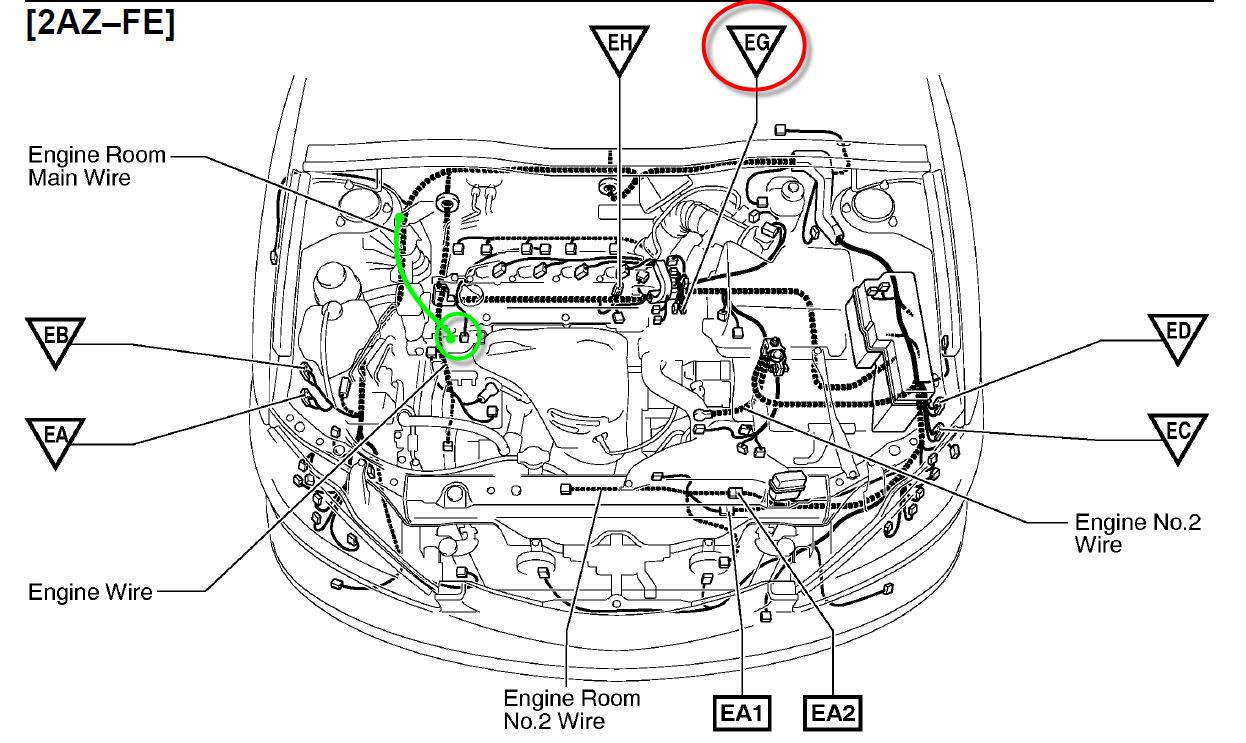 2002 scion Motor diagram
