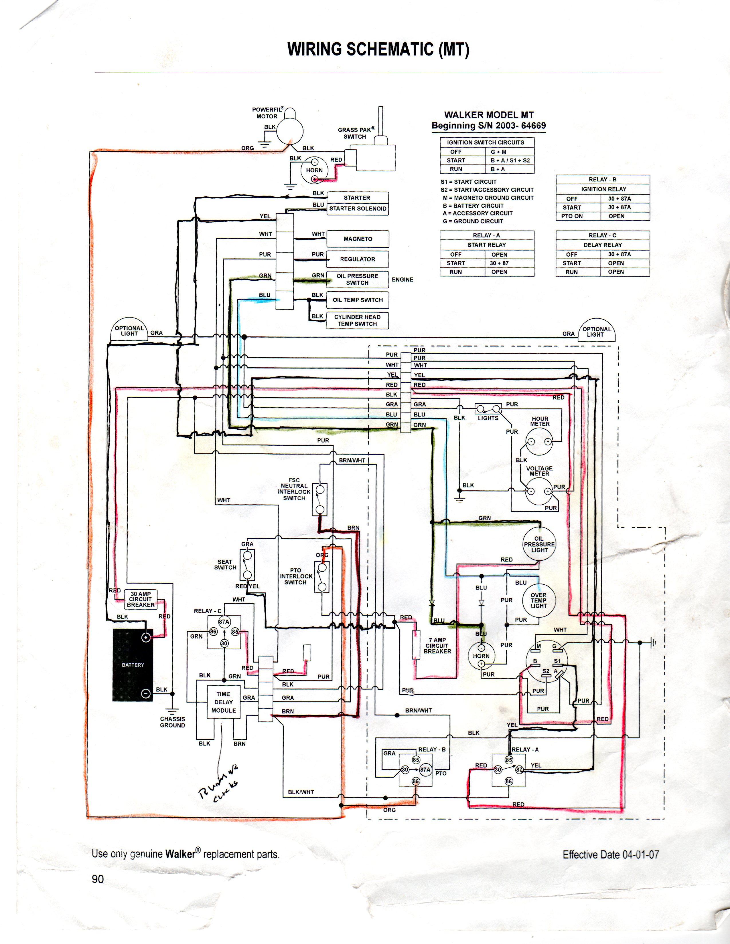 1046 cub cadet charging system wiring diagram