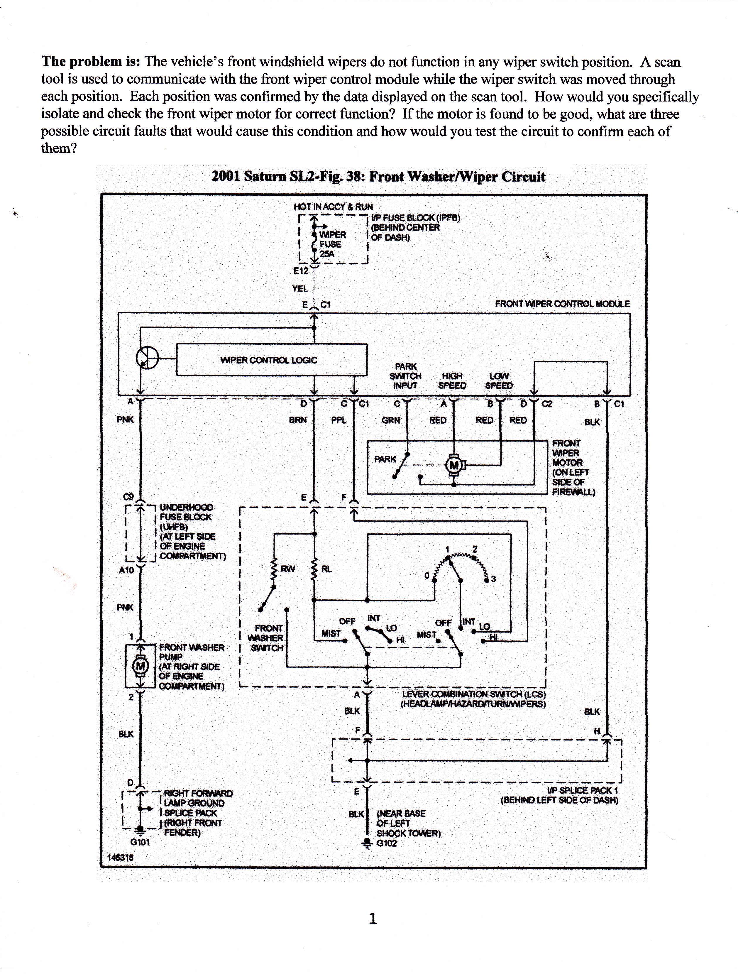 2001 saturn sl2 fuse box diagram wiring diagrams 2001 Saturn Sl2 Wiring Diagram