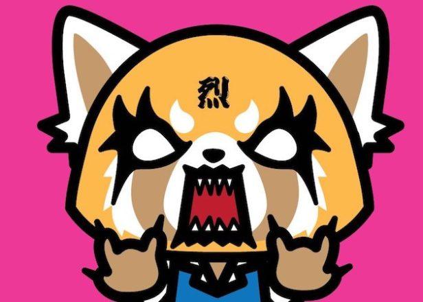 Animal Face Wallpaper Meet Aggretsuko Hello Kitty S Angry Death Metal Loving