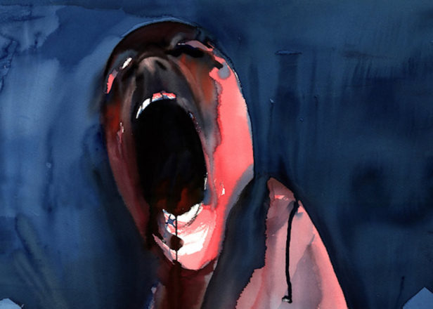 Pink Floyd Animals Wallpaper Original Paintings From Pink Floyd S The Wall Go On Sale