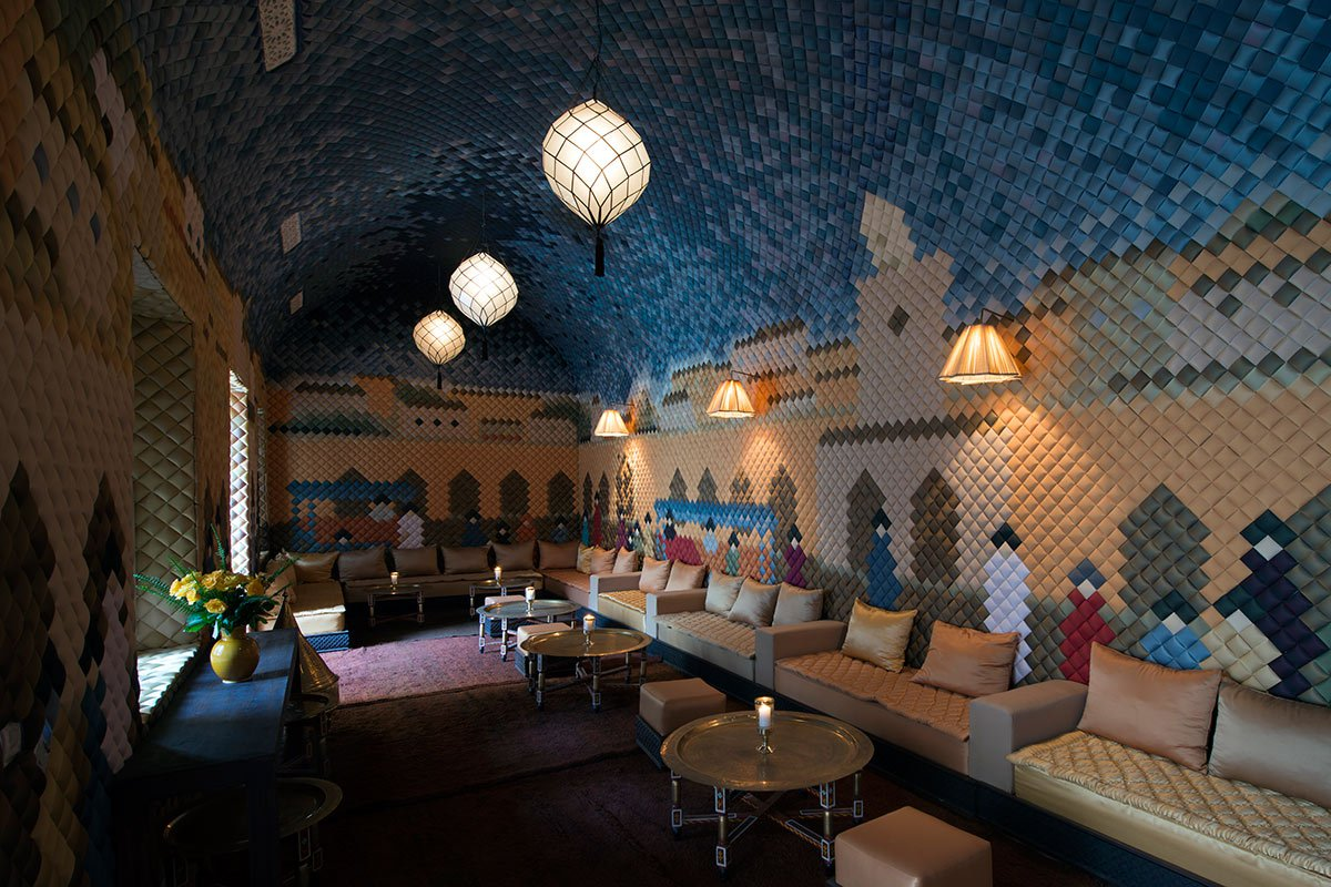 Salon Marrakech A New Riad In Old Marrakech Fathom
