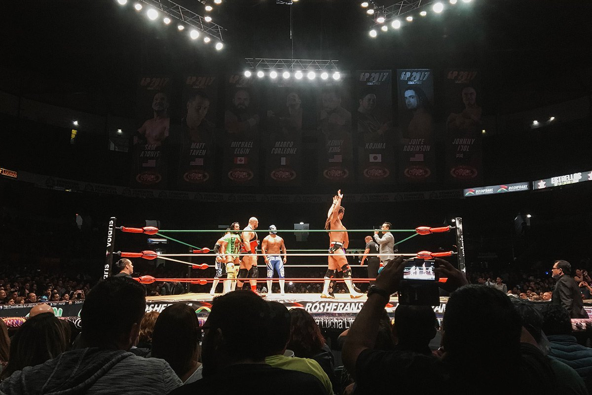 Lucha Libre Mexico Letting Off Steam At A Lucha Libre Match In Mexico City Fathom