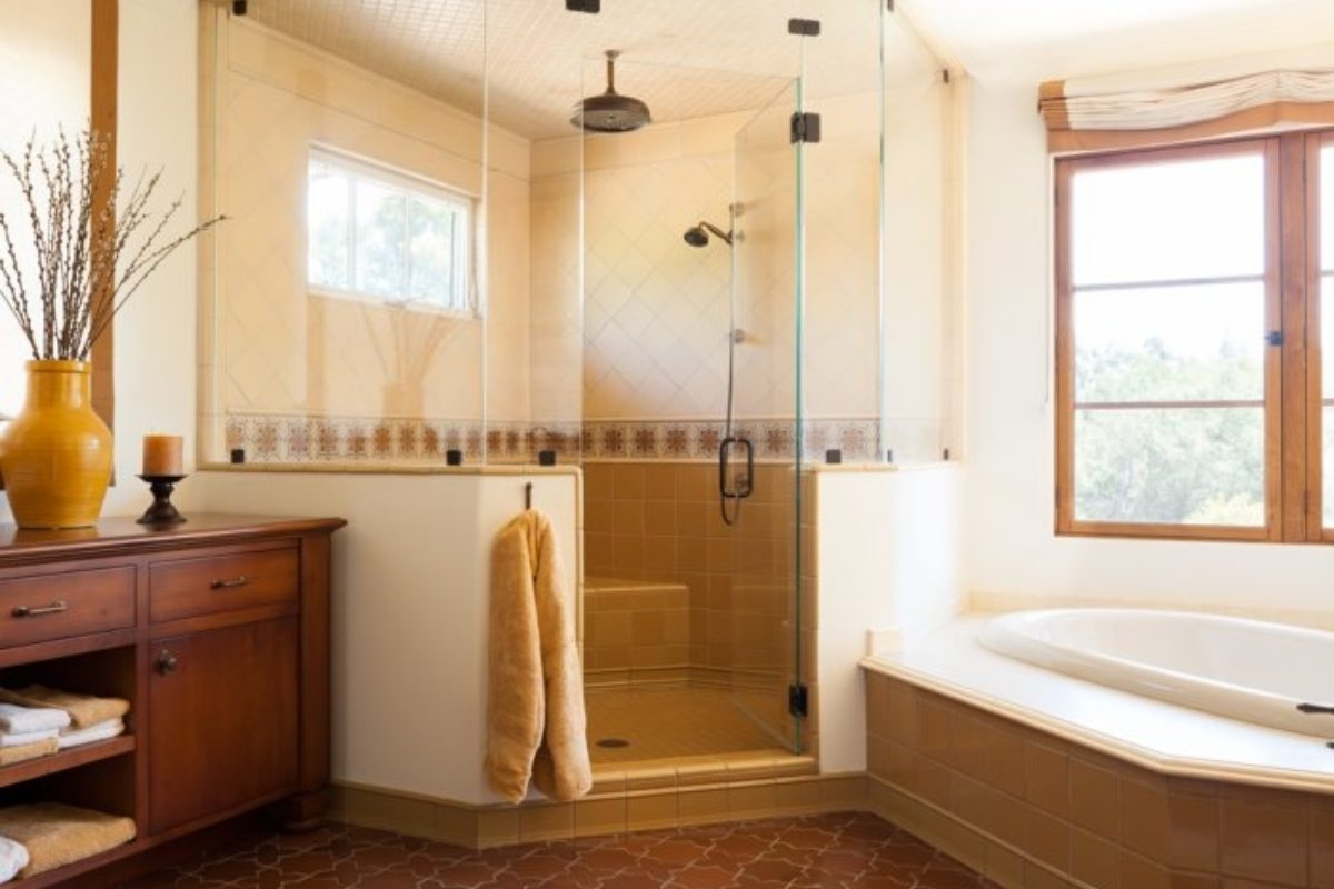 Bathroom In Spanish Tile By Style Soak Into A Spanish Colonial Bathroom Fireclay Tile