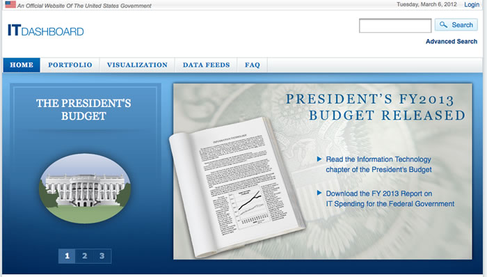 Updated Federal IT Dashboard Launched - Fedscoop