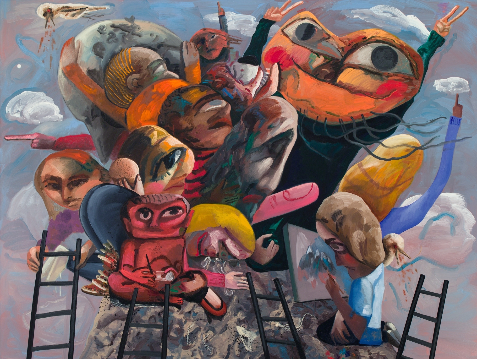 Arte Visual Group Selected Works Imagine Me And You Dana Schutz Exhibitions