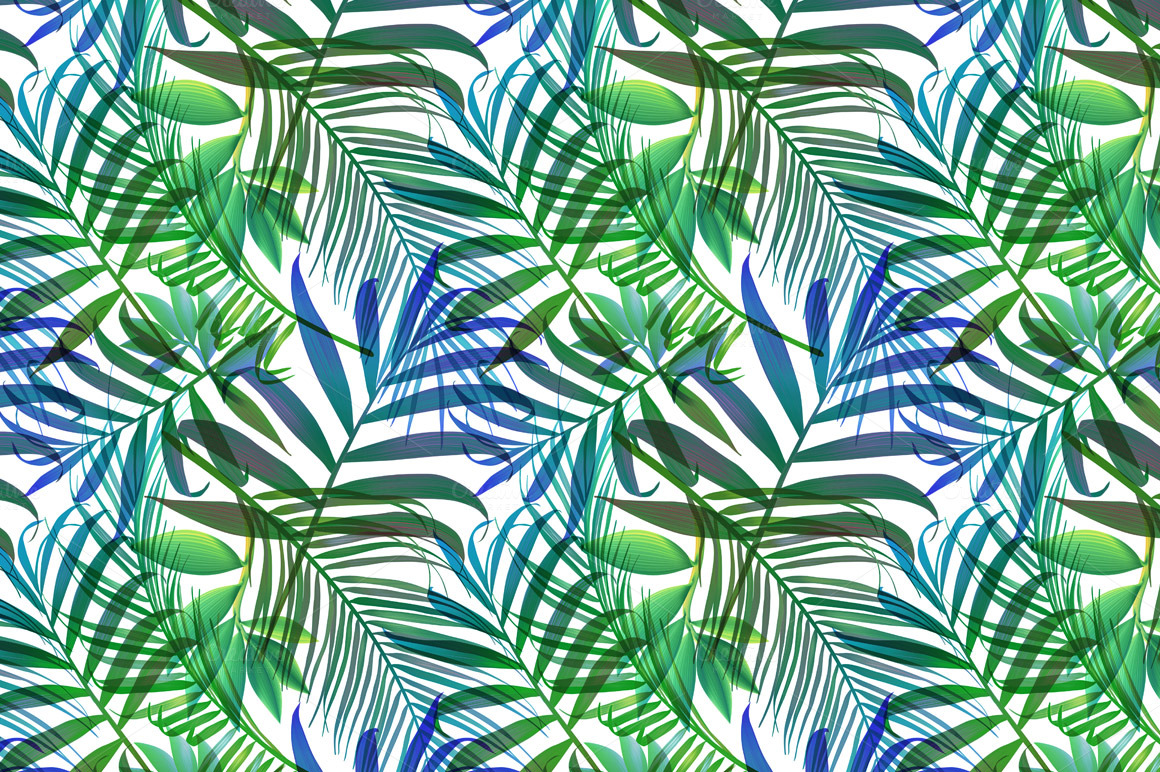 Computer Wallpaper Beach Hipster Quotes Tropical Pattern Jungle Palm Leaves Patterns On