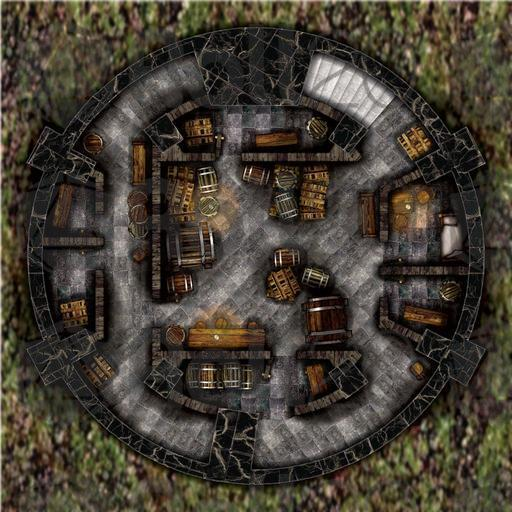 Sofa Gaming Amazon Arcknight Maps : The Wizard's Tower | Roll20 Marketplace