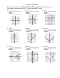 domain and range worksheet by JulieLong - Flipsnack