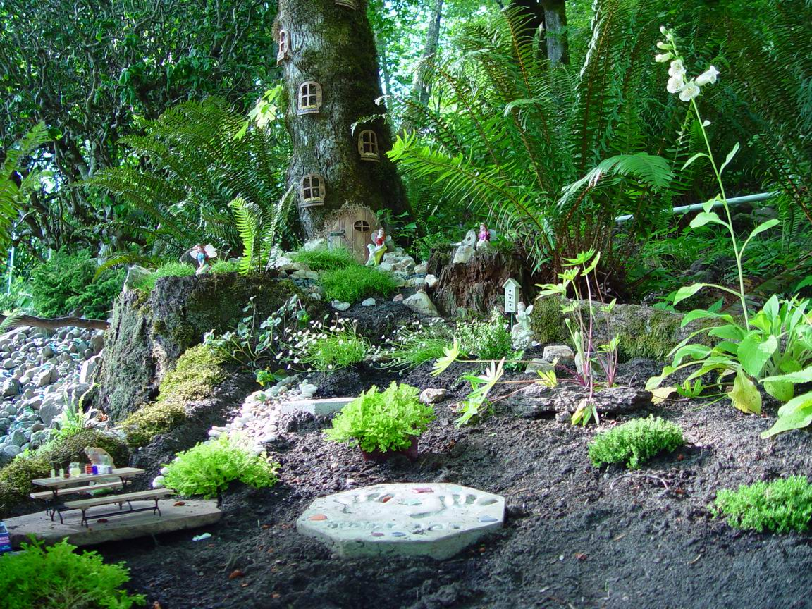 Fullsize Of Outdoor Fairy Gardens