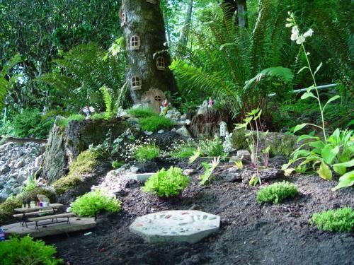 Medium Of Outdoor Fairy Gardens