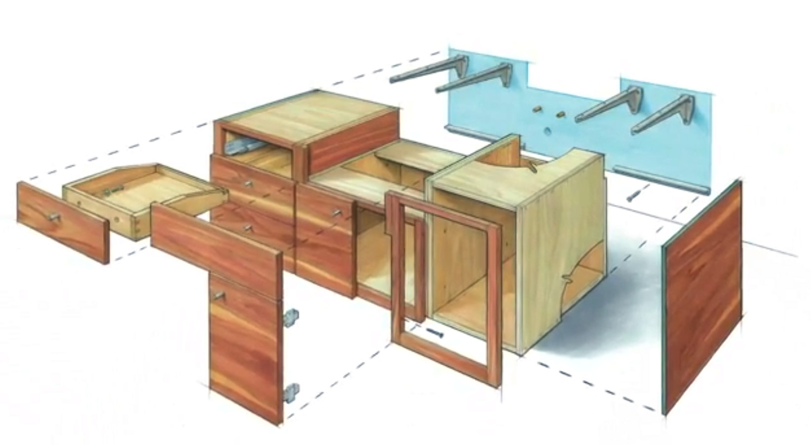 How To Make A Bathroom Vanity Cabinet Video Series How To Build A Floating Vanity