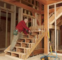 Framing Stairs with a Landing - Fine Homebuilding