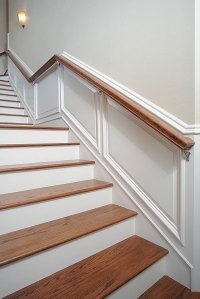 Taking Wainscot Up Stairs - Fine Homebuilding