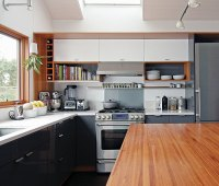 A Minimalist Kitchen: To the Studs and Back