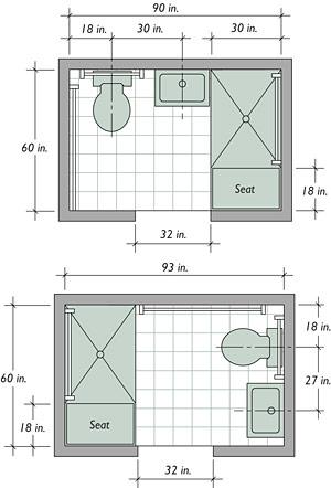 The Basics Of A Barrier Free Bath Fine Homebuilding