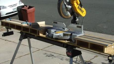 Miter Saw Table Combo Stand Bruin Blog