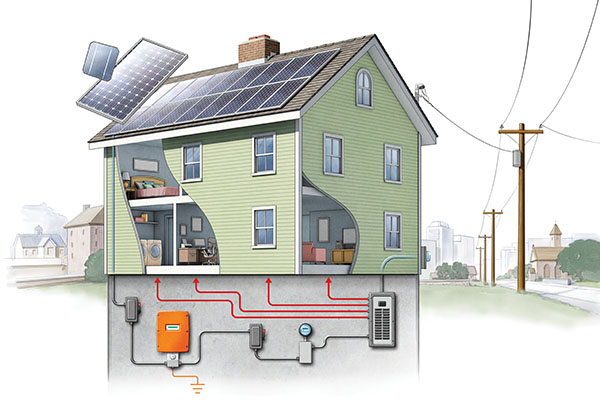 diagram of a house in connecticut house with the wiring